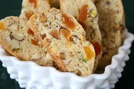 Apricot and Pistachia Biscotti delicious New Zealand recipe